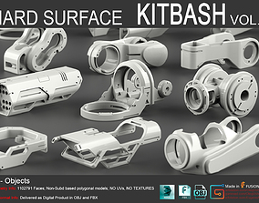 Hard Surface KitBash Vol 6 3D
