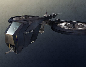 military 3D Drone