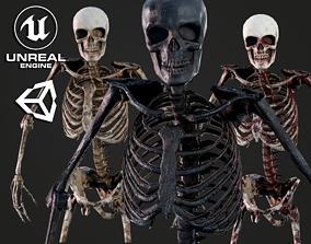 3D model Skeleton Humanoid - Game Ready