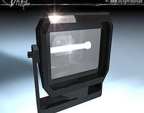 stage light Floodlights 3D