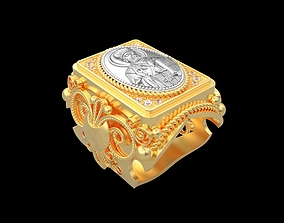 fashion-and-beauty Ring R095 3D print model