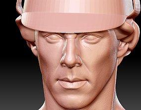 3D print model Sherlock Holmes Benedict Cumberbatch bust