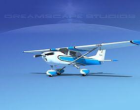 Cessna 172 Skyhawk 1967 V06 3D
