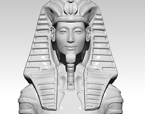 Pharaoh bust element 3D printable model