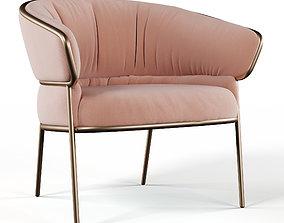 3D SHU-YING Fabric lounge chair