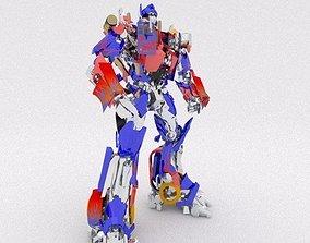 AUTOBOT LEADER Optimus Prime 3D