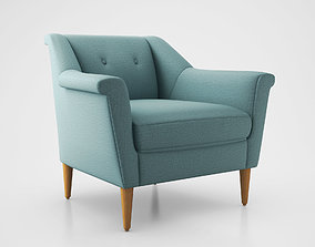 3D Finn Armchair by West Elm