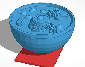 3D printable model Eukaryotic Animal Cell