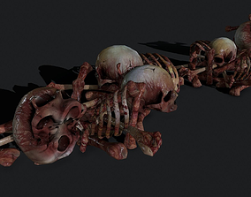 3D model Creepy Pile of bones