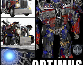 3D model Optimus Prime Alive Transformer