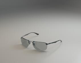 Branded Sunglasses 3D model