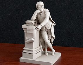 William Shakespeare 3d print model