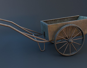 3D asset Pushcart