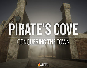 Pirates Cove - Conquering the Town 3D asset