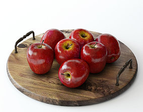 vitamin apples 3D model