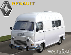 3D model Renault Estafette High Roof