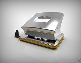 Hole Punch stationary 3D