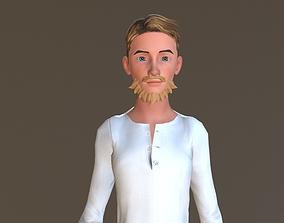 Mitchell 3D asset