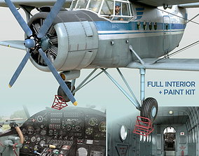 3D model Antonov An-2T