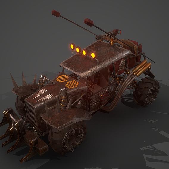 Apocalyptic Battle Buggy 01