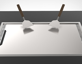 3D model hot plate