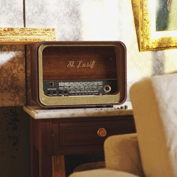 The radio scene