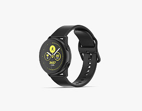 Samsung Galaxy Watch Active Black 3D model