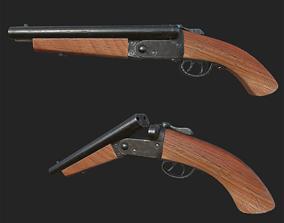 3D asset Shotgun 1