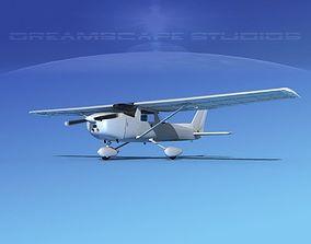 Cessna 150 Aerobat Bare Metal 3D