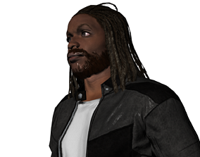 Jacob gang of black dogs 3D model