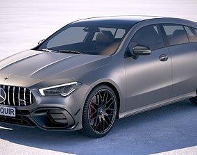 3D Mercedes-Benz CLA45 S AMG Shooting Brake 2020