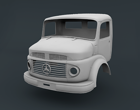 Mercedes Benz 2624 Cabin Truck 3D printable model