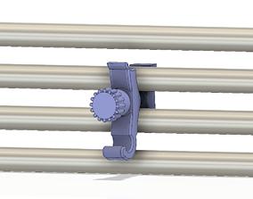 Hooks holder additional suspended radiator 3d-print cnc