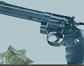357 Magnum Sherif 3D model