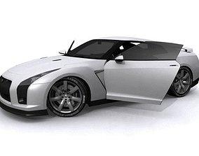 Nissan GT-R 3D asset VR / AR ready