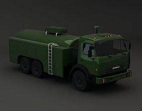 3D Kamaz Modify Tanker
