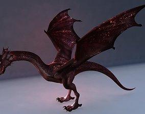 low-poly Dragon Model