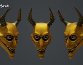 3D print model Devil Mask