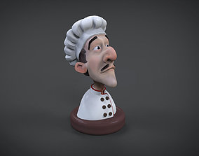 Cook 3d printable figure cartoon