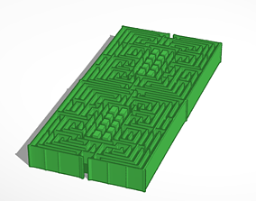 3D model Hedge Maze