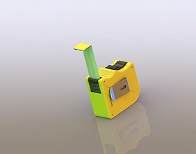 Force Tape Measure 3D model