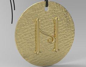 Alphabet Latin N 3D printable model