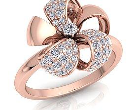 3D print model Fancy Woman Ring rings