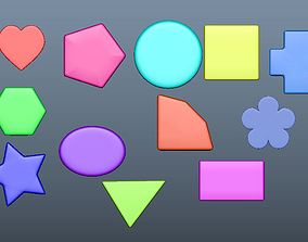 shapes for animation or mathematical 3D