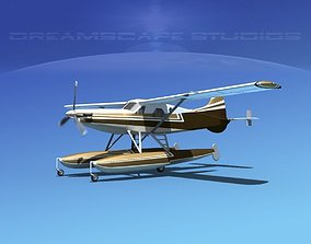 3D model DeHavilland DHC-2 Turbo Beaver V13