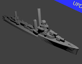 US Sims Class Destroyer 3D printable model