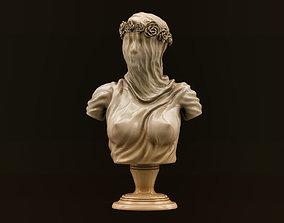 3D print model Veiled Lady