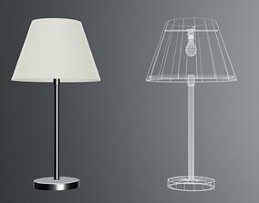 modern office lamp 3D model VR / AR ready