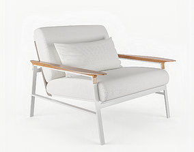 3D model CITY LOUNGE CHAIR By Point