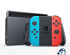 after-effects Nintendo Switch for Element 3D